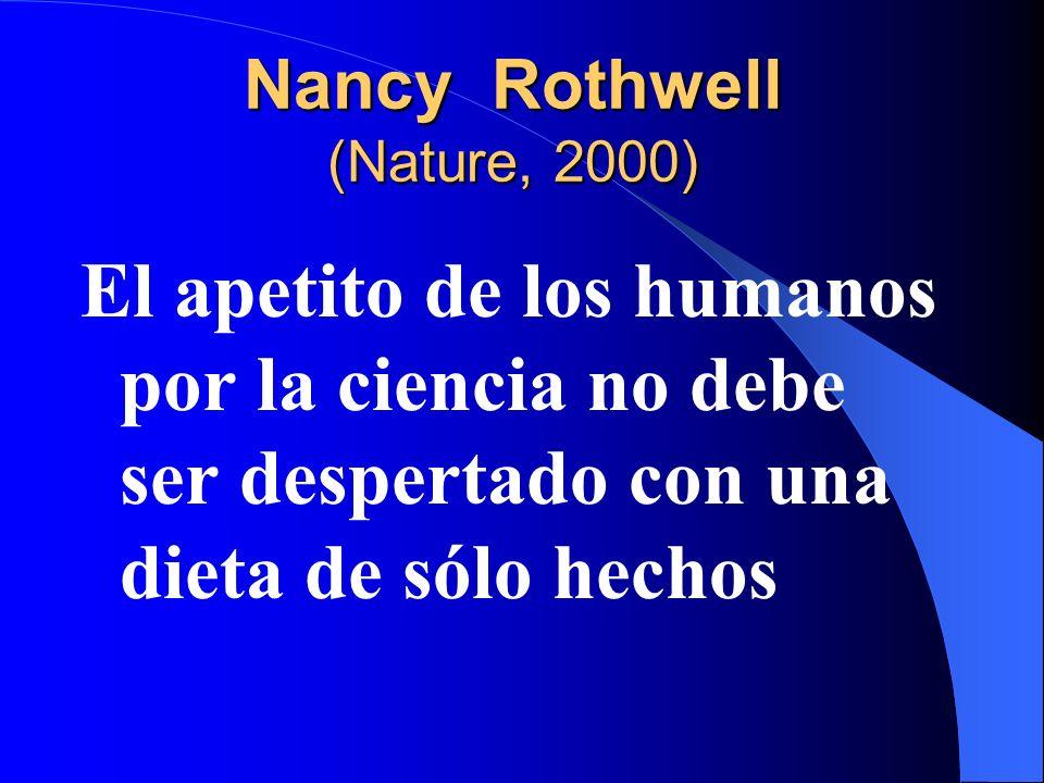 Nancy Rothwell (Nature, 2000)