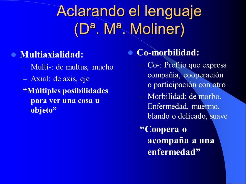 Aclarando el lenguaje (Dª. Mª. Moliner)