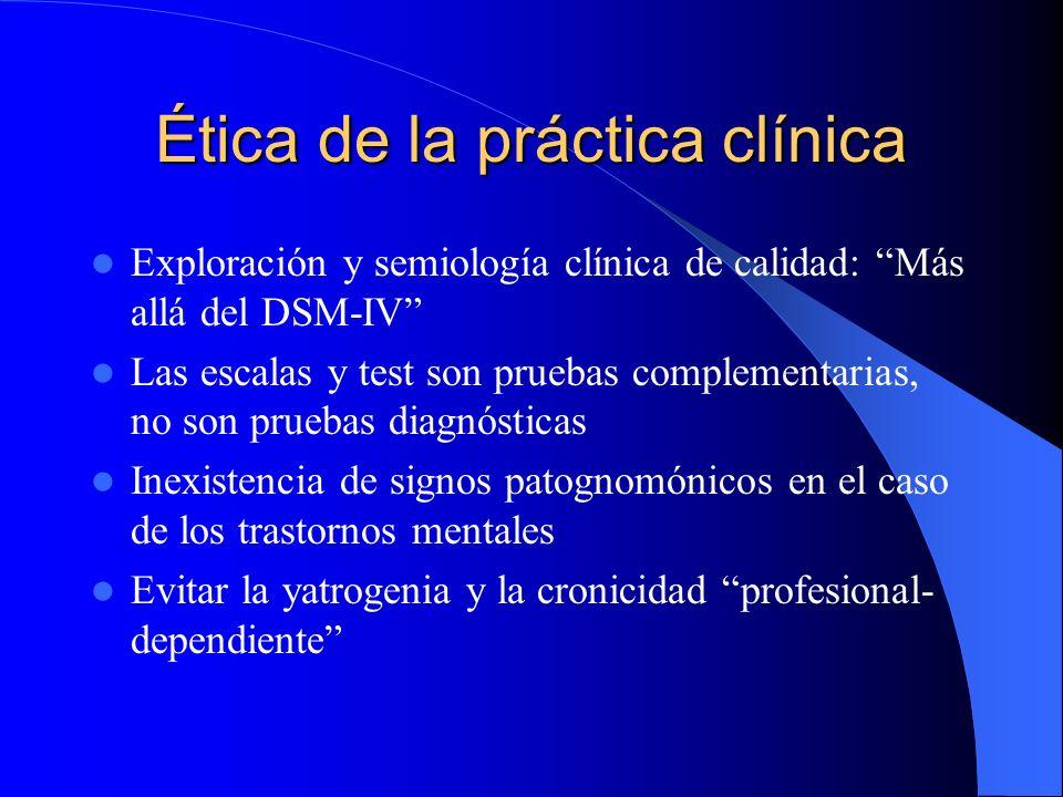Ética de la práctica clínica