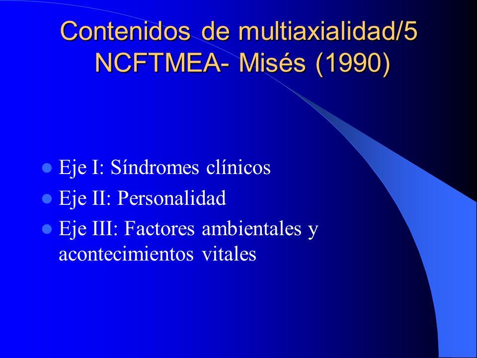 Contenidos de multiaxialidad/5 NCFTMEA- Misés (1990)