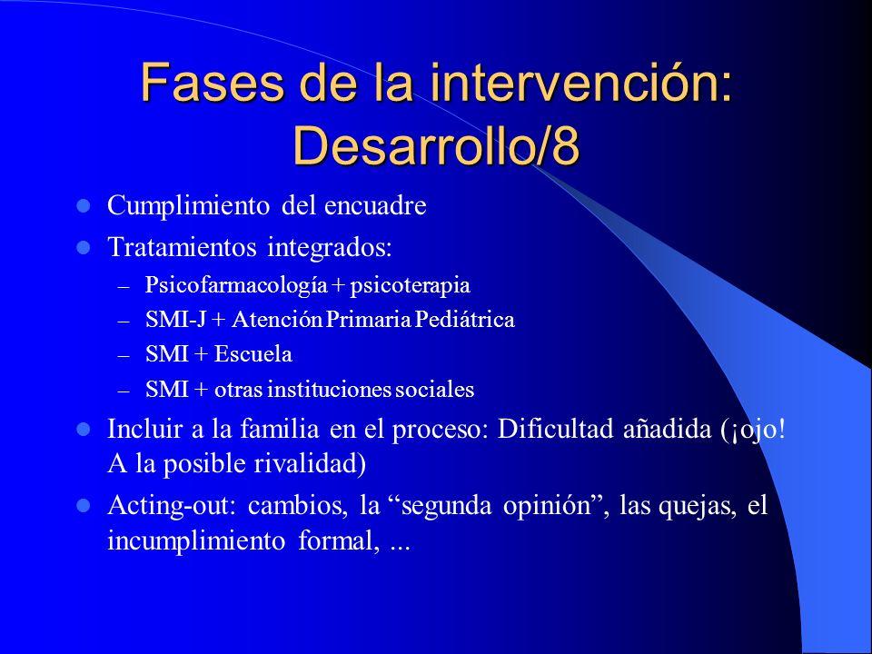 Fases de la intervención: Desarrollo/8
