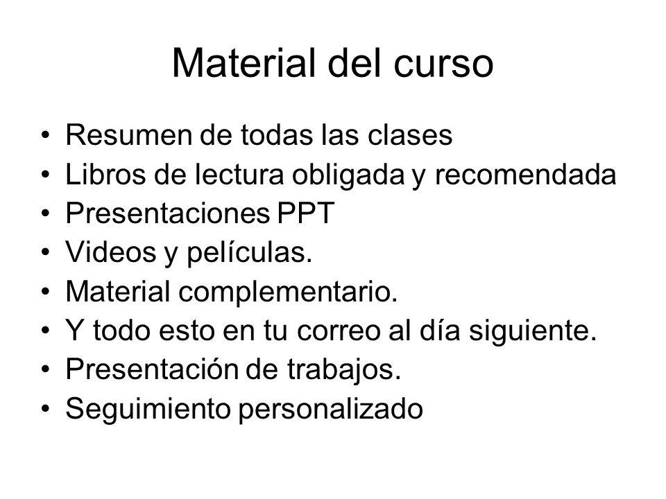 Material del curso Resumen de todas las clases