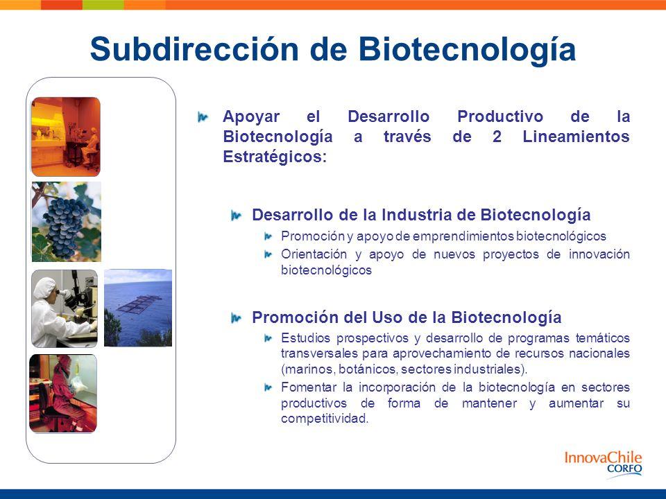 Subdirección de Biotecnología