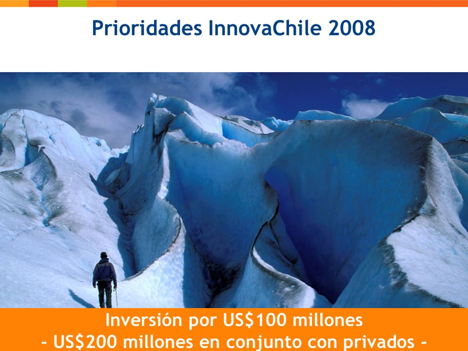 Prioridades InnovaChile 2008