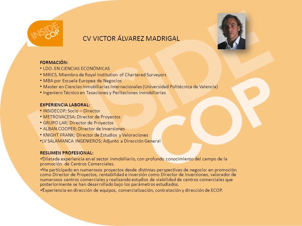 CV VICTOR ÁLVAREZ MADRIGAL