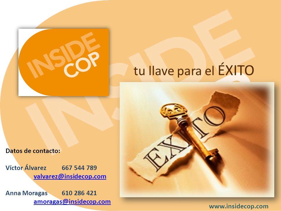 tu llave para el ÉXITO Datos de contacto: