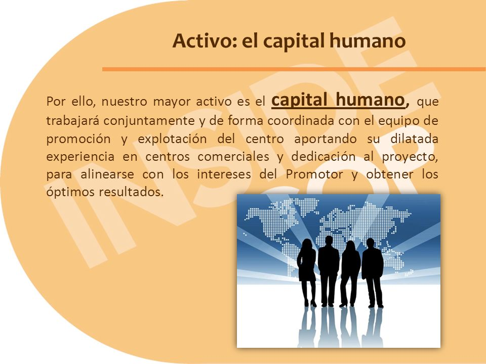 Activo: el capital humano