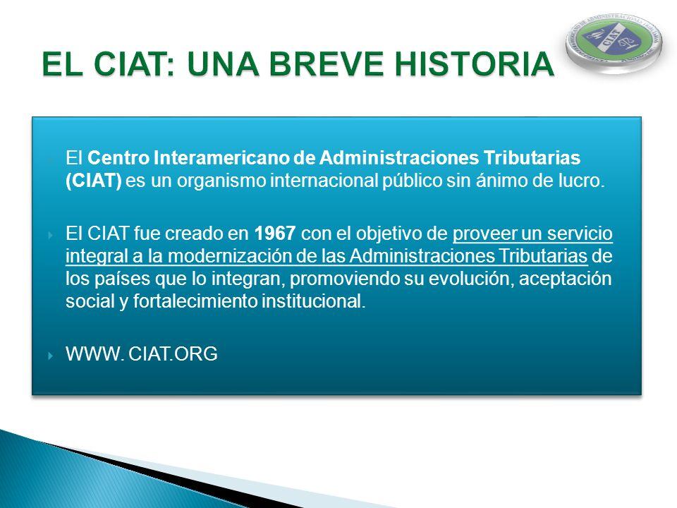EL CIAT: UNA BREVE HISTORIA