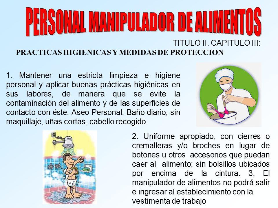 Seguridad alimentaria ppt video online descargar for Manual de buenas practicas de higiene y manipulacion de alimentos