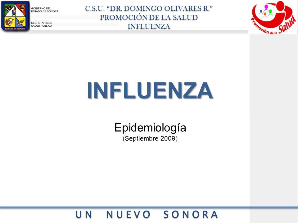 INFLUENZA Epidemiología (Septiembre 2009)