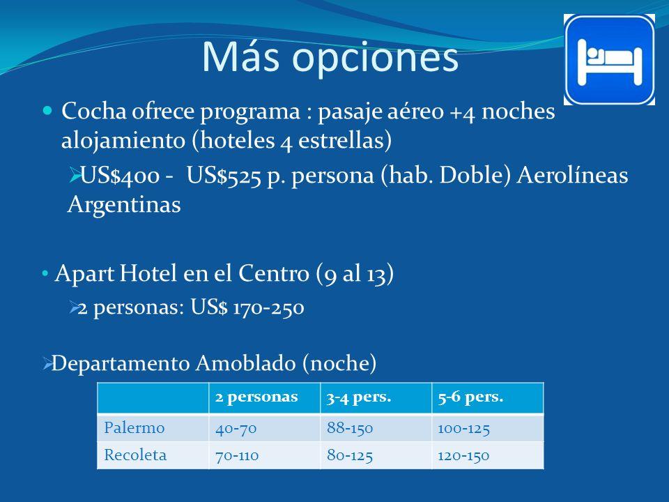 Más opciones Cocha ofrece programa : pasaje aéreo +4 noches alojamiento (hoteles 4 estrellas)