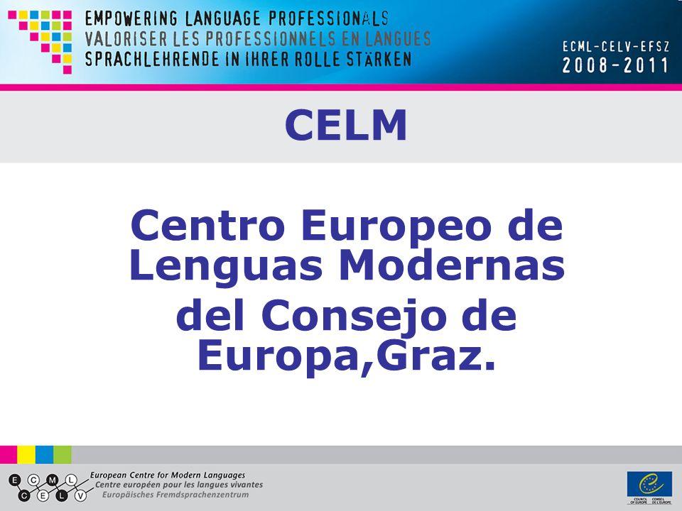 Centro Europeo de Lenguas Modernas del Consejo de Europa,Graz.