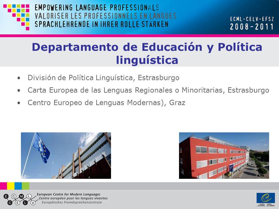 Departamento de Educación y Política linguística