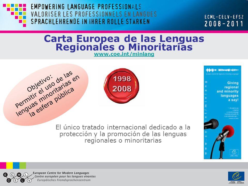 Permitir el uso de las lenguas minoritarias en la esfera pública