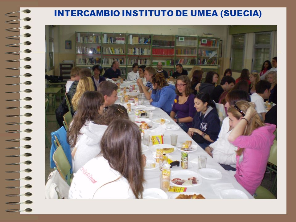 INTERCAMBIO INSTITUTO DE UMEA (SUECIA)