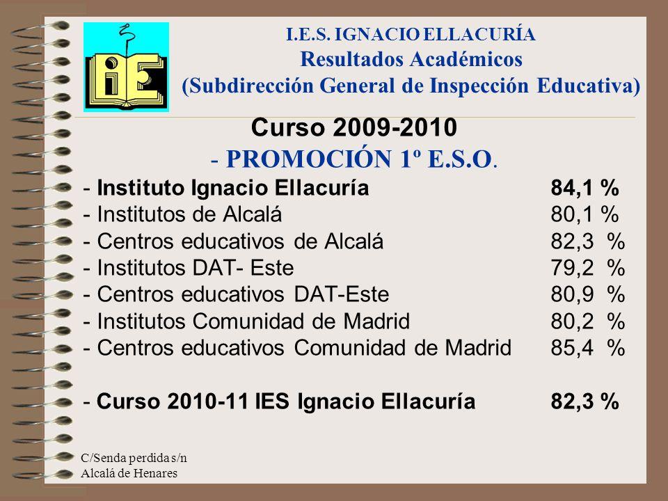 Curso 2009-2010 - PROMOCIÓN 1º E.S.O.