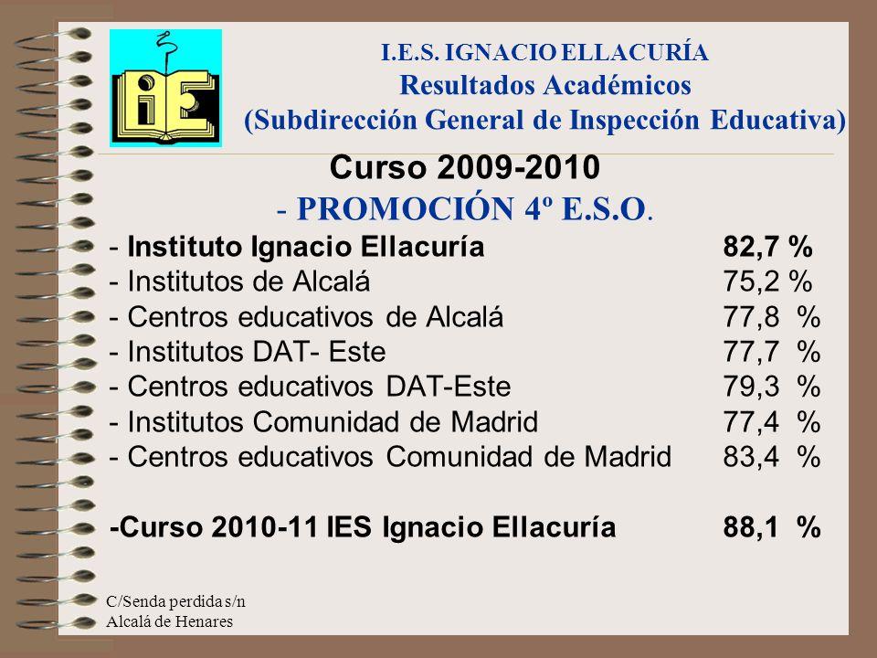Curso 2009-2010 - PROMOCIÓN 4º E.S.O.