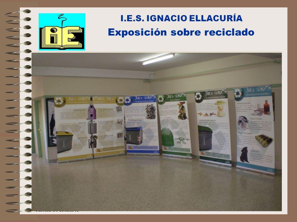 Exposición sobre reciclado