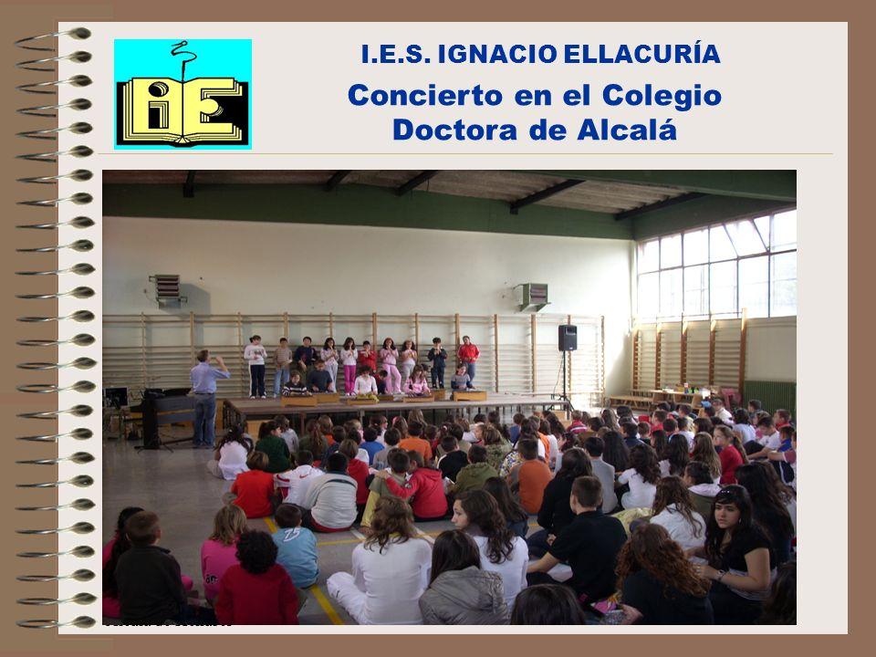 Concierto en el Colegio Doctora de Alcalá