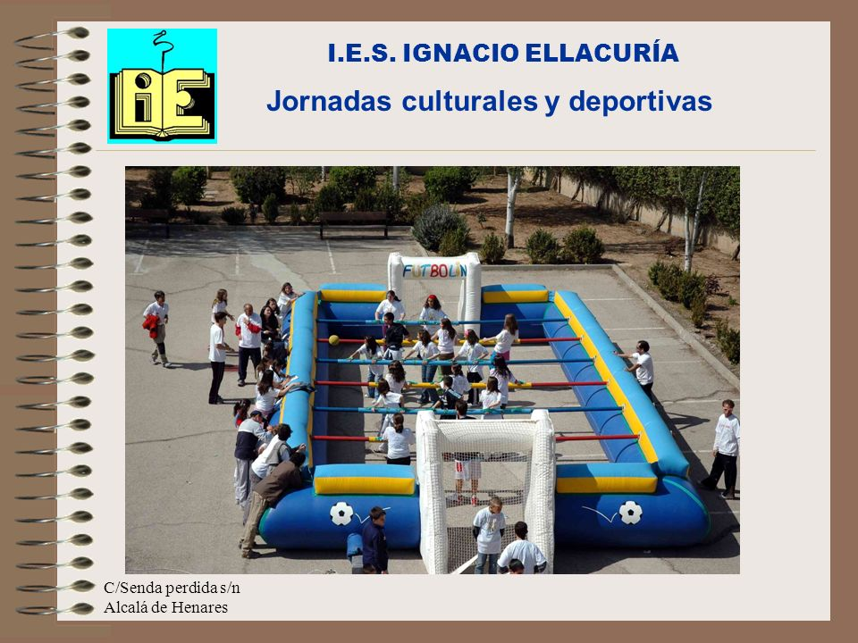 Jornadas culturales y deportivas