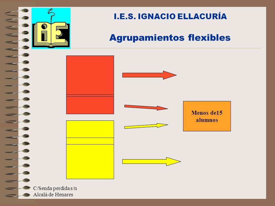 I.E.S. IGNACIO ELLACURÍA Agrupamientos flexibles