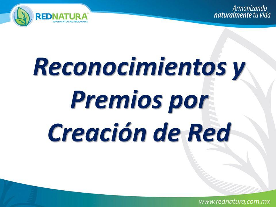 Reconocimientos y Premios por Creación de Red