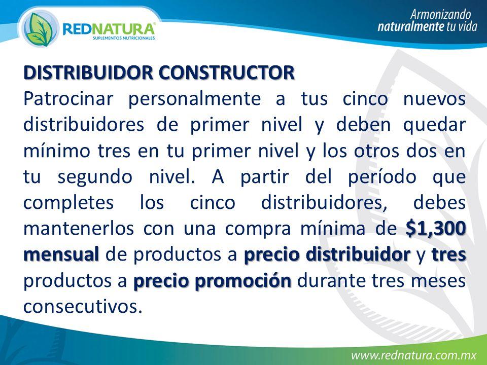 DISTRIBUIDOR CONSTRUCTOR
