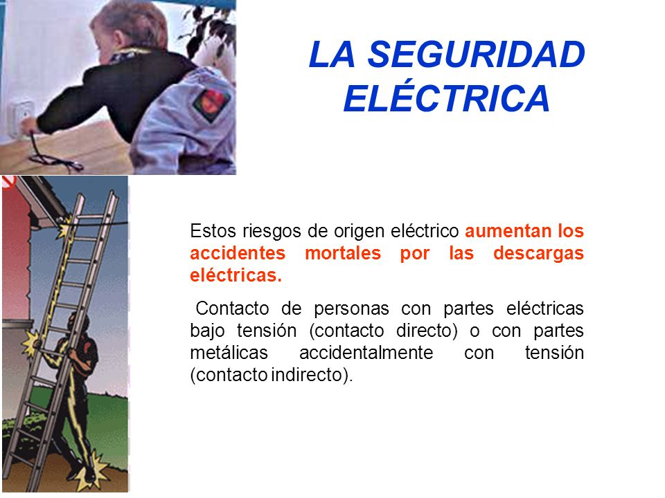 LA SEGURIDAD ELÉCTRICA