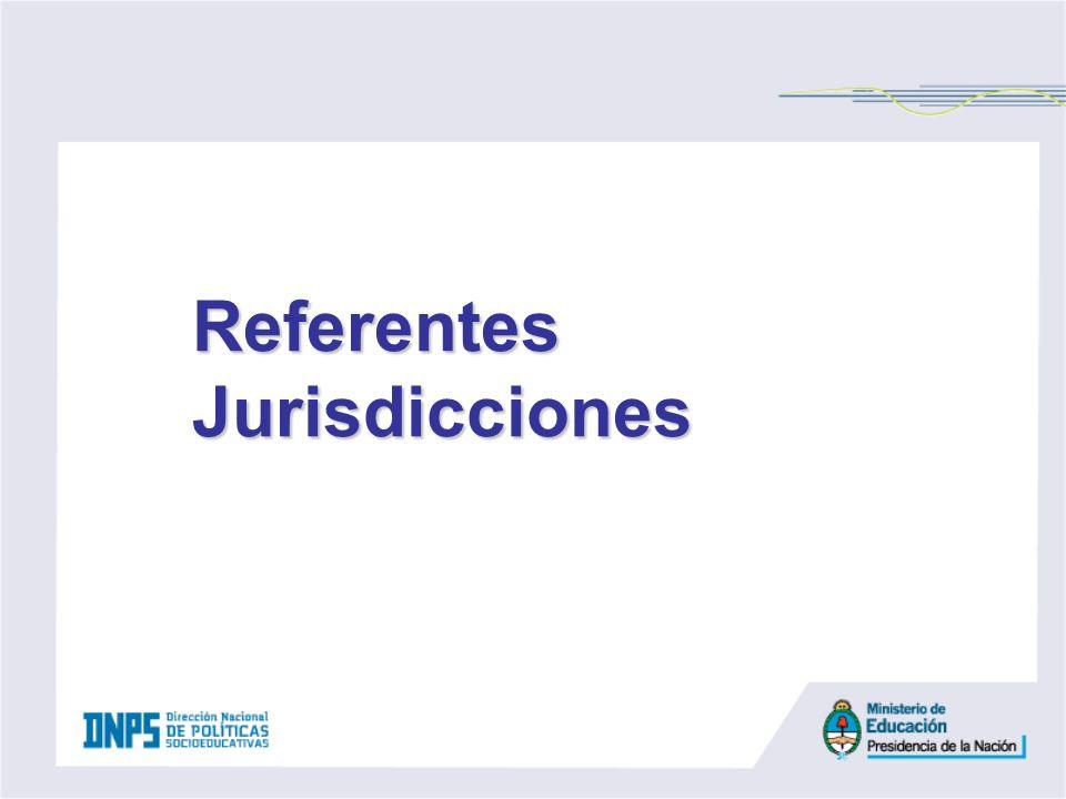 Referentes Jurisdicciones