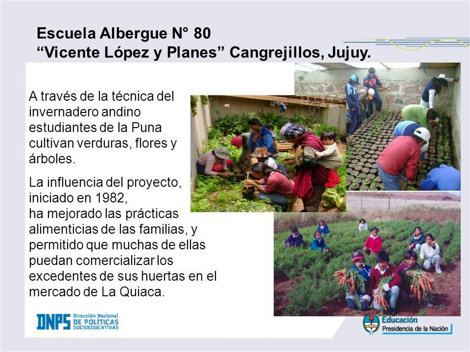 Vicente López y Planes Cangrejillos, Jujuy.