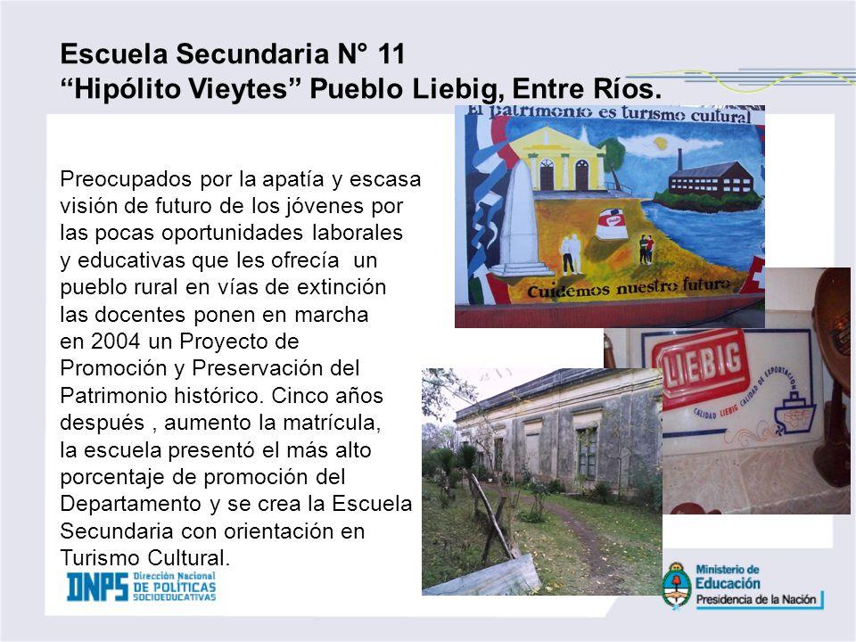 Hipólito Vieytes Pueblo Liebig, Entre Ríos.
