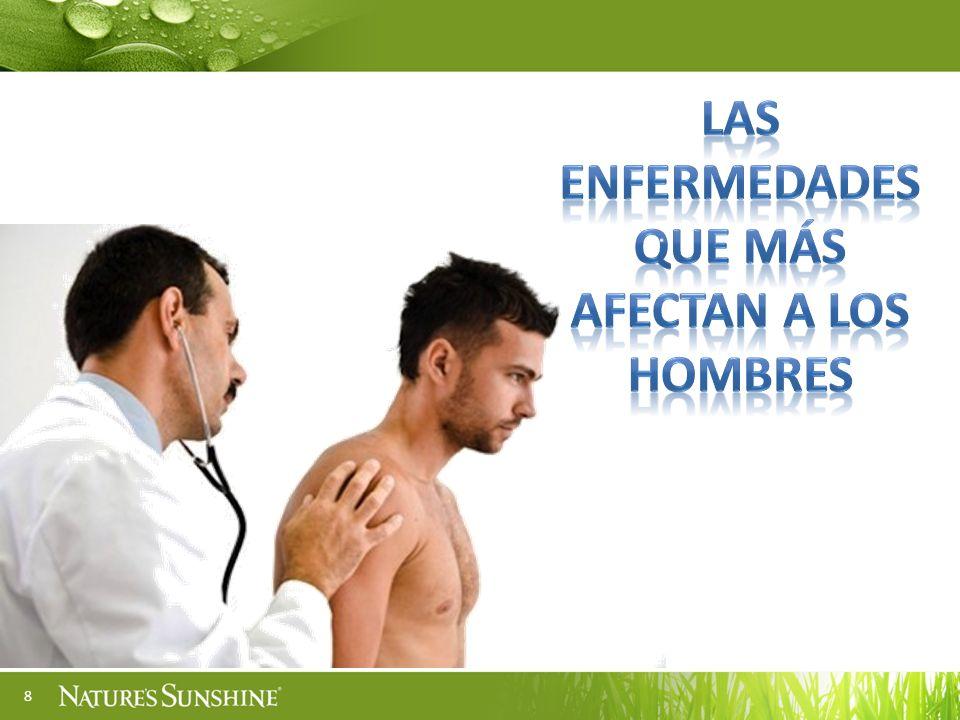 Las enfermedades que más afectan a los hombres
