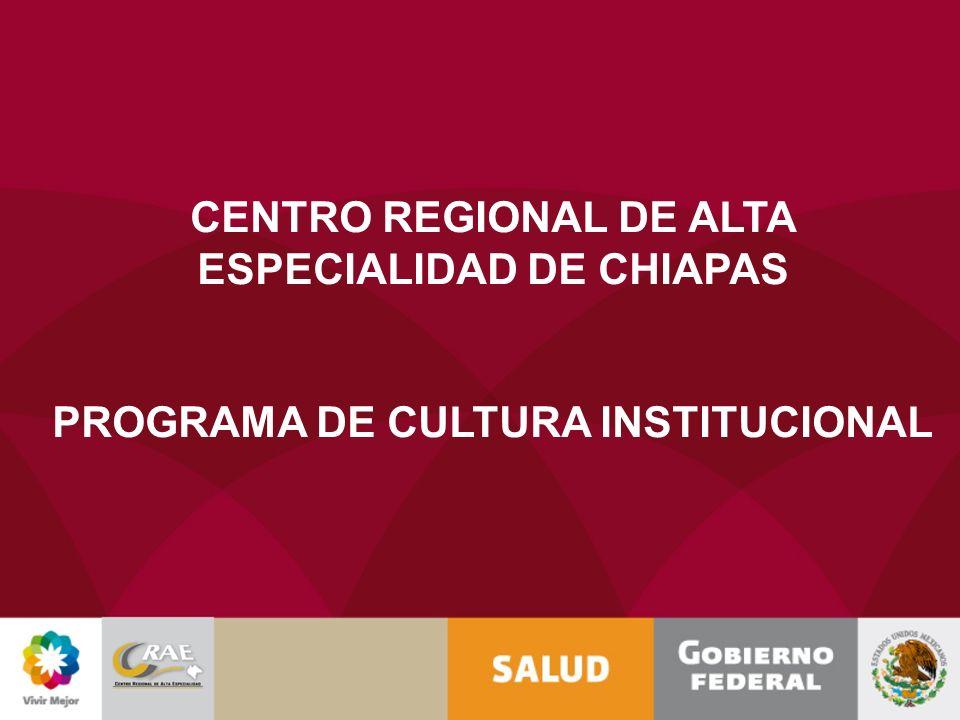 CENTRO REGIONAL DE ALTA ESPECIALIDAD DE CHIAPAS