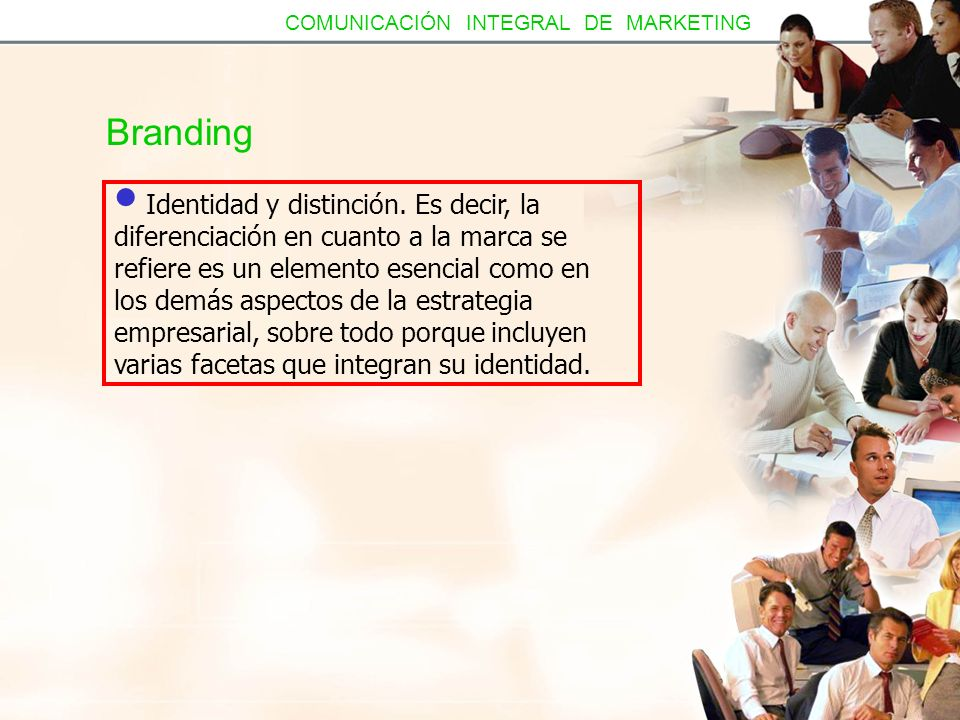 COMUNICACIÓN INTEGRAL DE MARKETING
