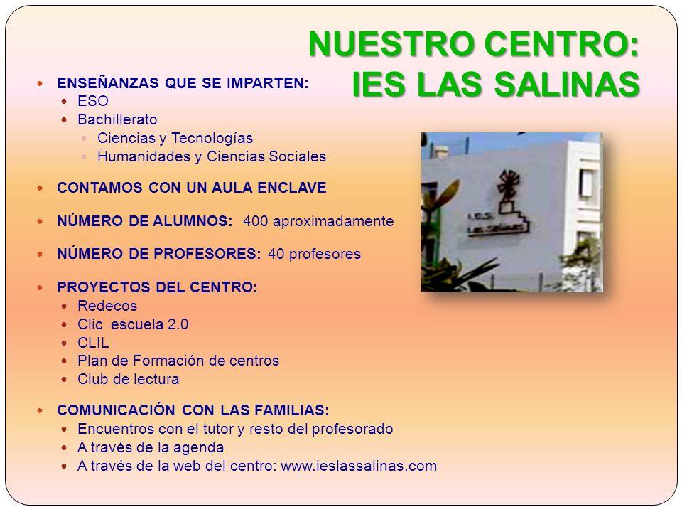 NUESTRO CENTRO: IES LAS SALINAS