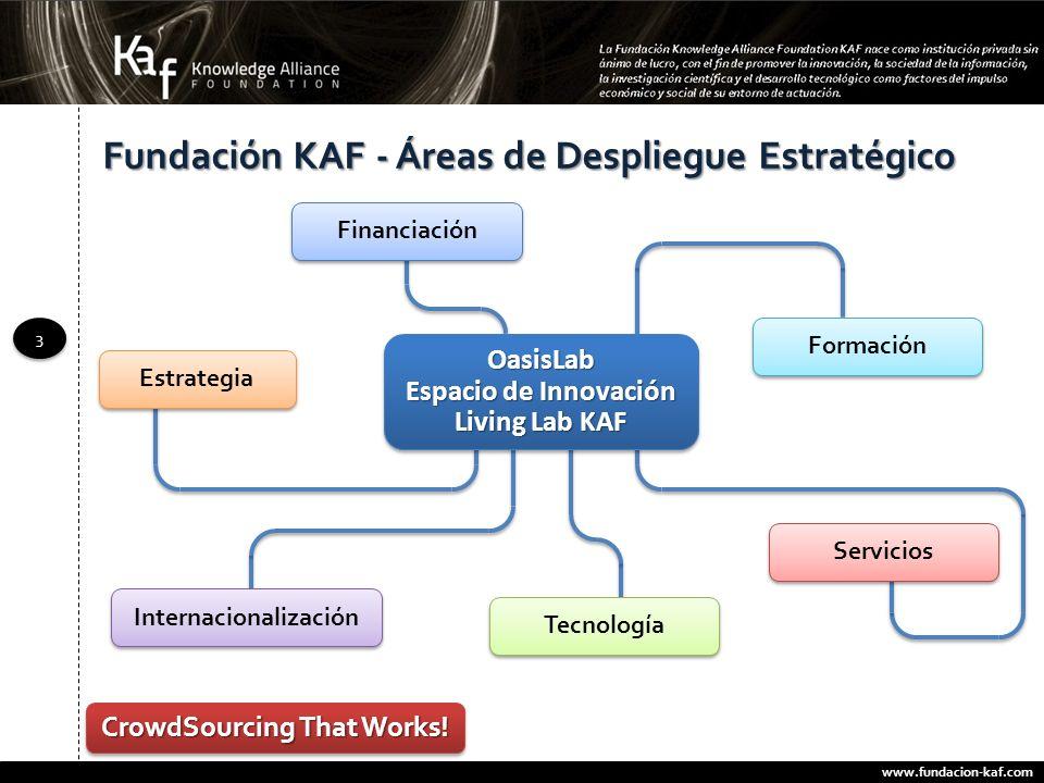 Fundación KAF - Áreas de Despliegue Estratégico