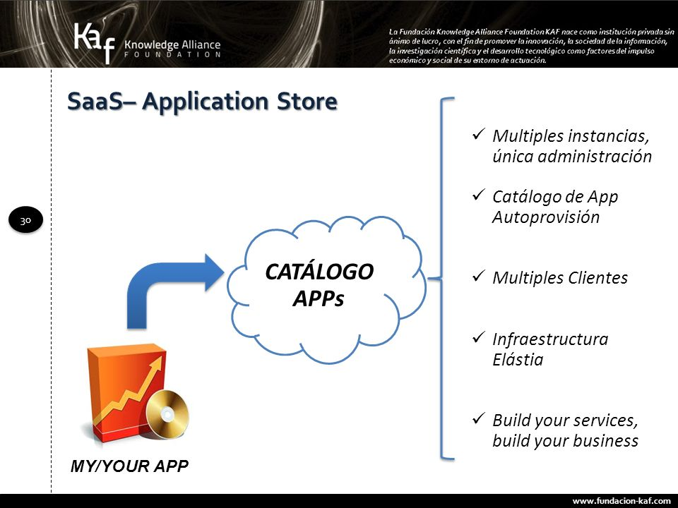 SaaS– Application Store