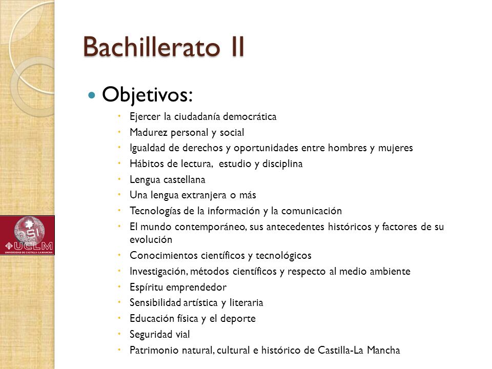 Bachillerato II Objetivos: Ejercer la ciudadanía democrática