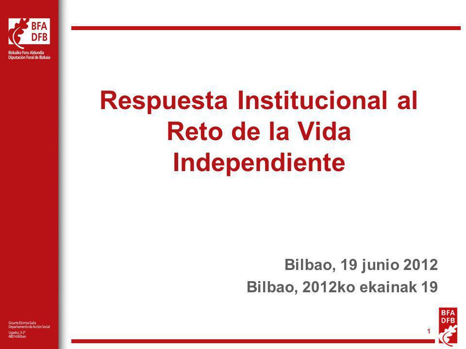 Respuesta Institucional al Reto de la Vida Independiente