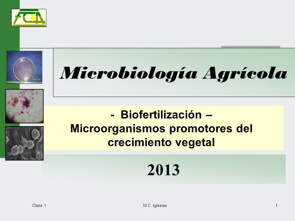 Microbiología Agrícola
