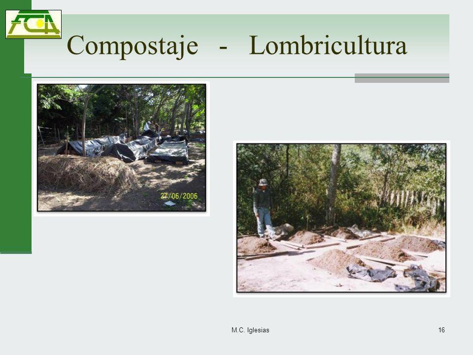 Compostaje - Lombricultura
