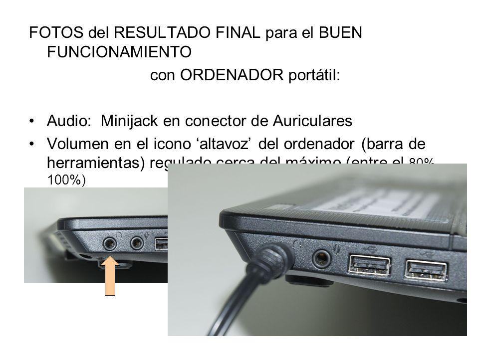con ORDENADOR portátil: