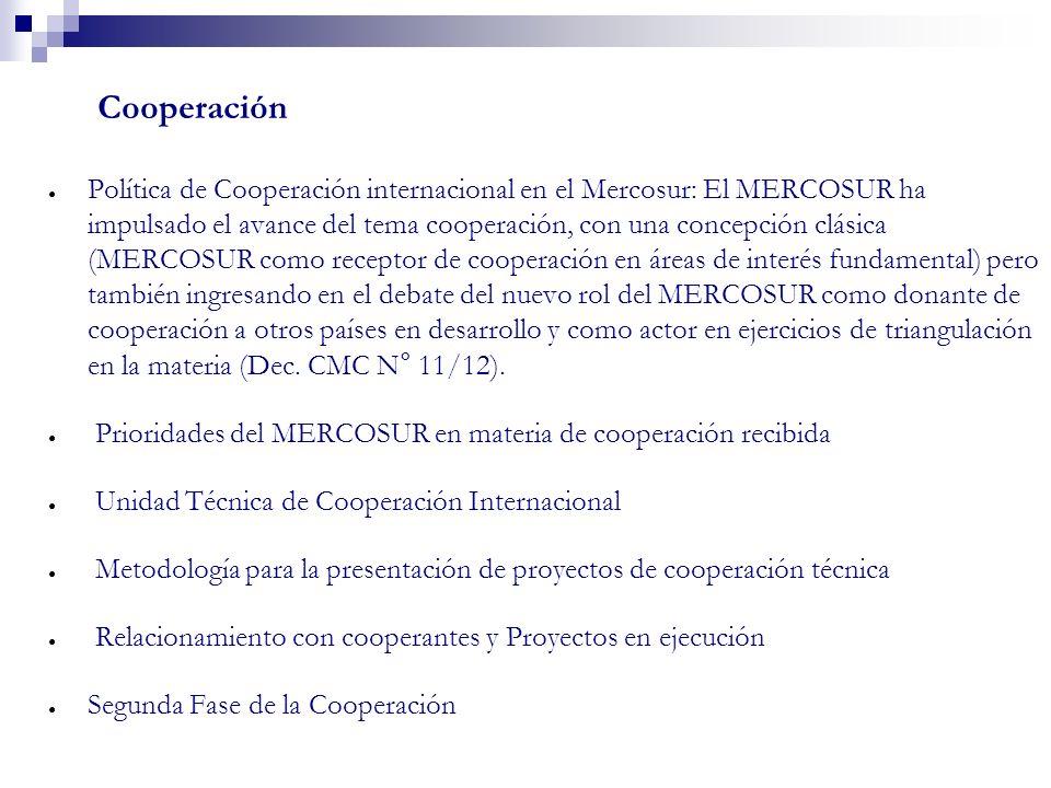 Cooperacióneficiencia de la gestión de la cooperación técnica: