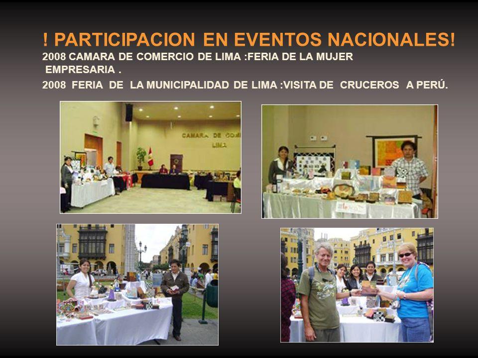 ! PARTICIPACION EN EVENTOS NACIONALES!