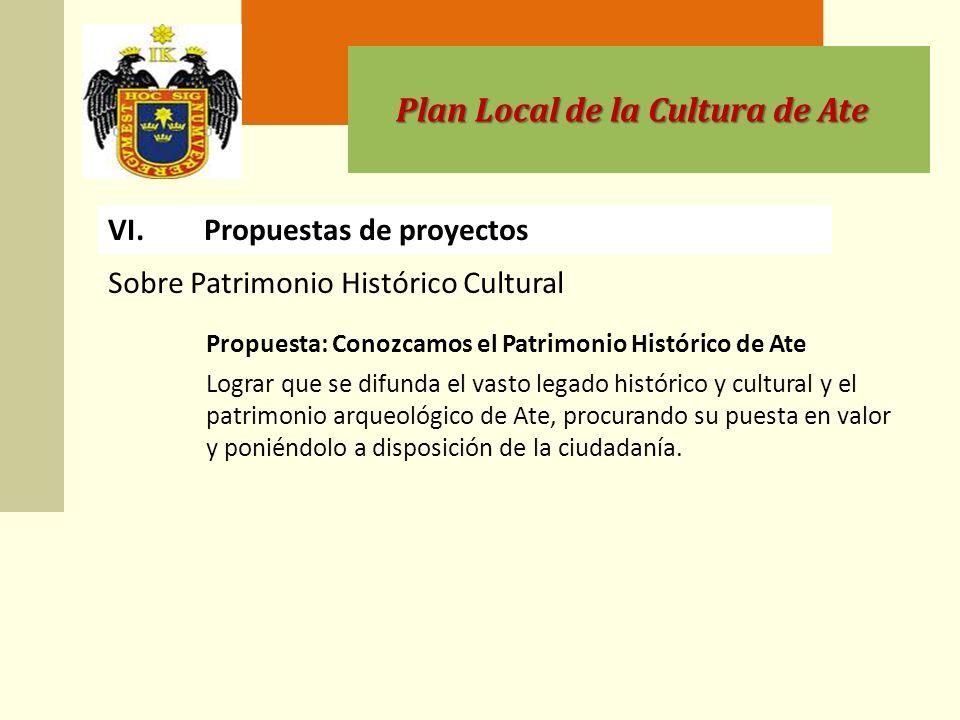 Plan Local de la Cultura de Ate