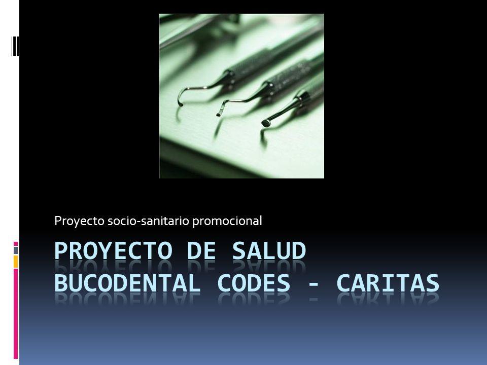Proyecto de salud bucodental codes - caritas
