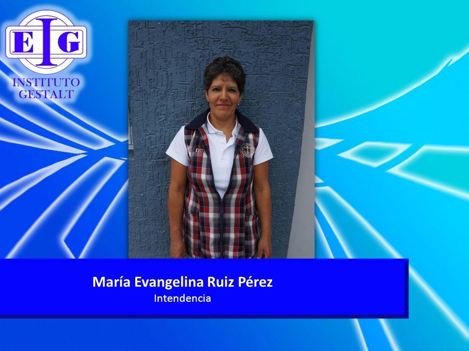 María Evangelina Ruiz Pérez