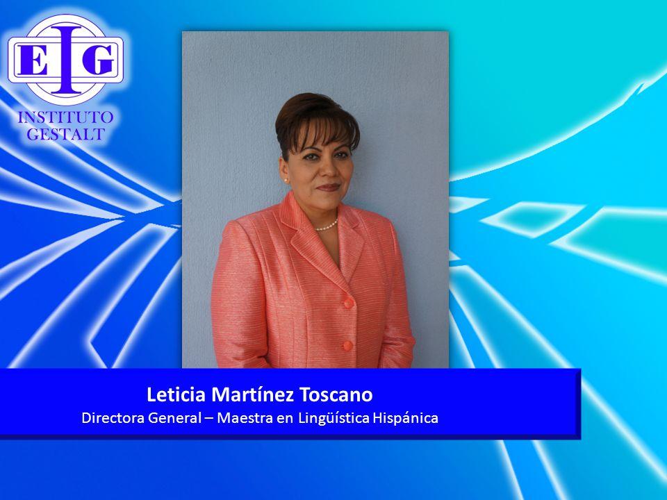 Leticia Martínez Toscano