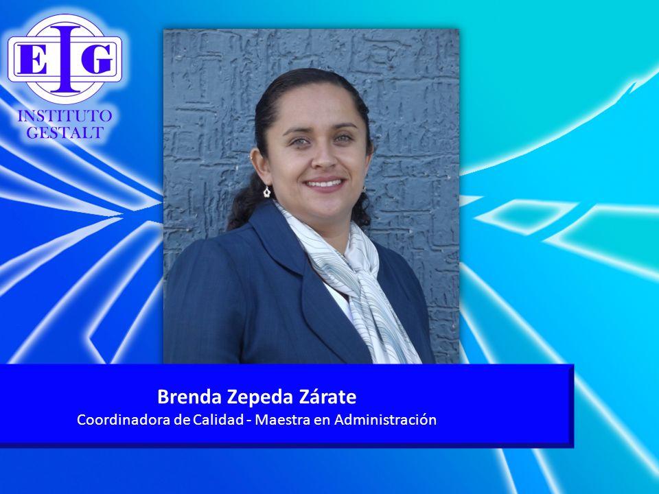 Coordinadora de Calidad - Maestra en Administración