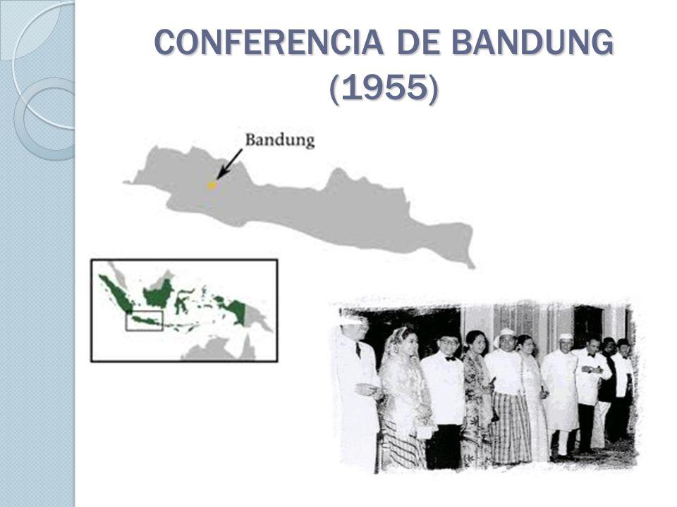 CONFERENCIA DE BANDUNG (1955)